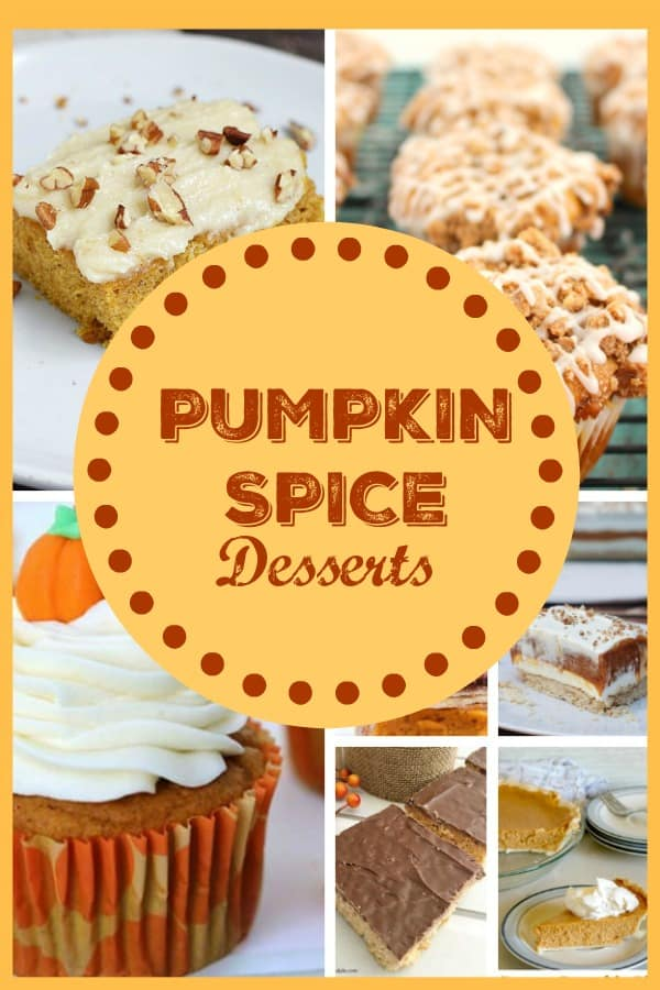 Pumpkin Spice Desserts from This Mama Loves