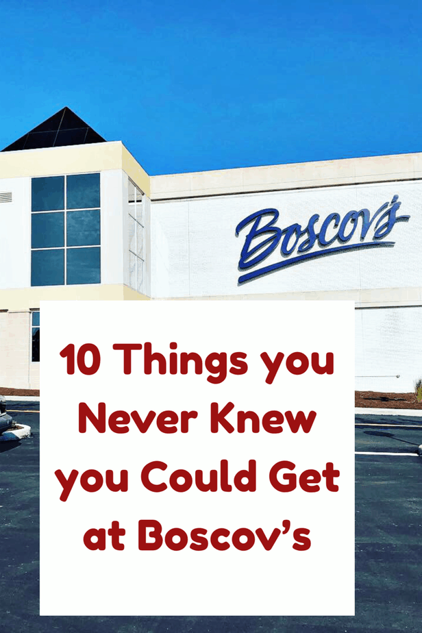 10 Things you never knew you could get at Boscov's #BoscovsMilford #CelebrateBoscovs
