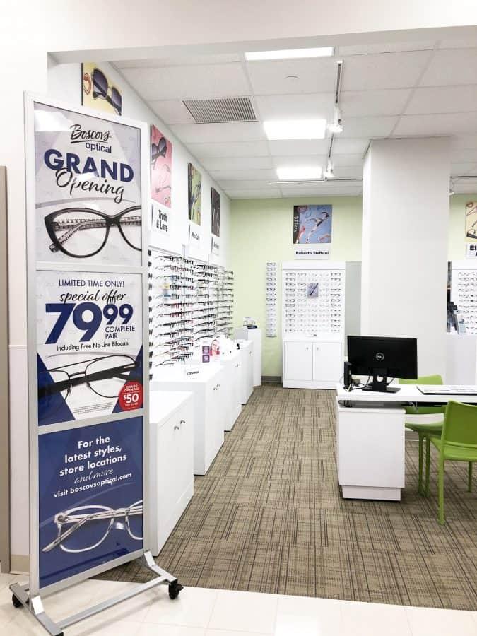 Prescription eyeglasses Boscov's