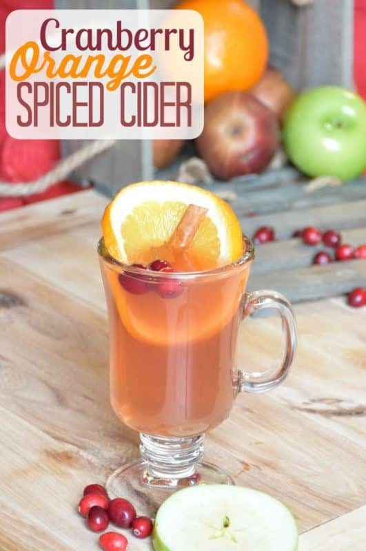 Cranberry Orange Spiced Cider from A Proverbs 31 Wife