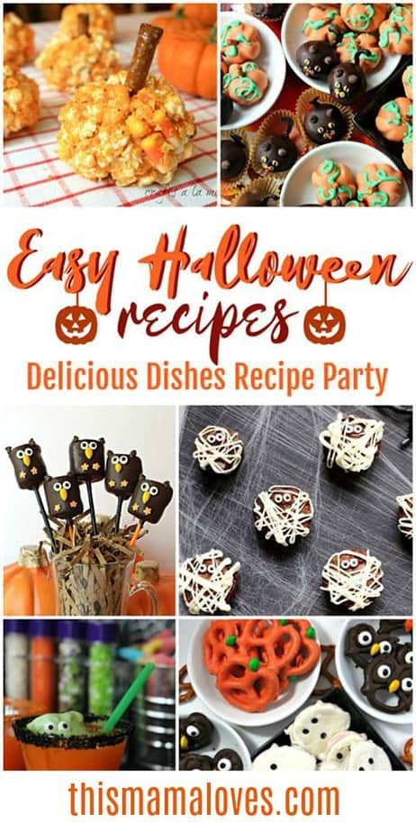 Easy Halloween Recipes to make and share from This Mama Loves