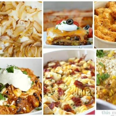 Easy Family Friendly Casserole Recipes