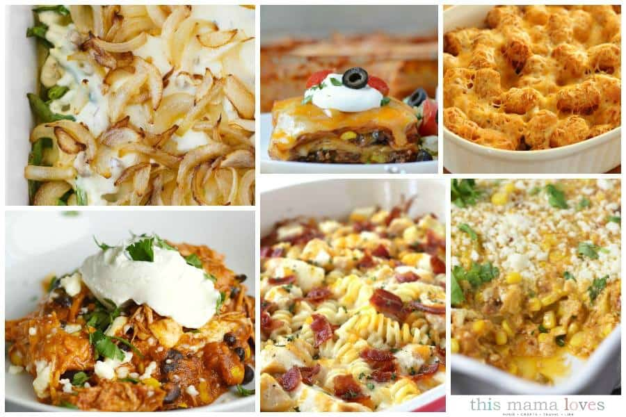 Family Favorite Casserole Recipes This Mama Loves