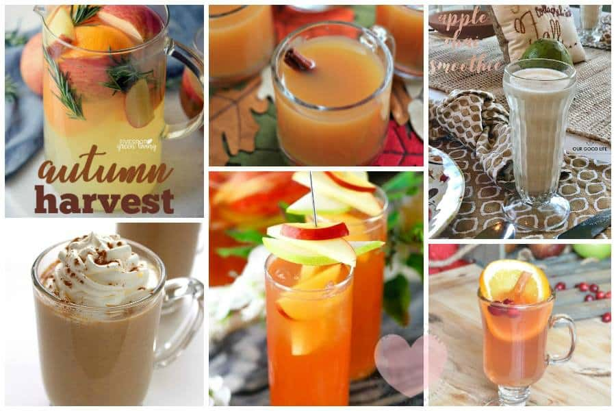 Fun Fall Drinks Non Alcoholic Fall Drinks Fall Mocktails