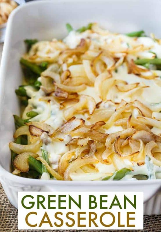 Green Bean Casserole from Simply Stacie