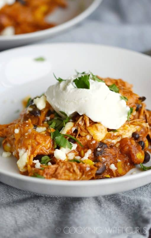 Mexican Casserole from Cooking with Curls