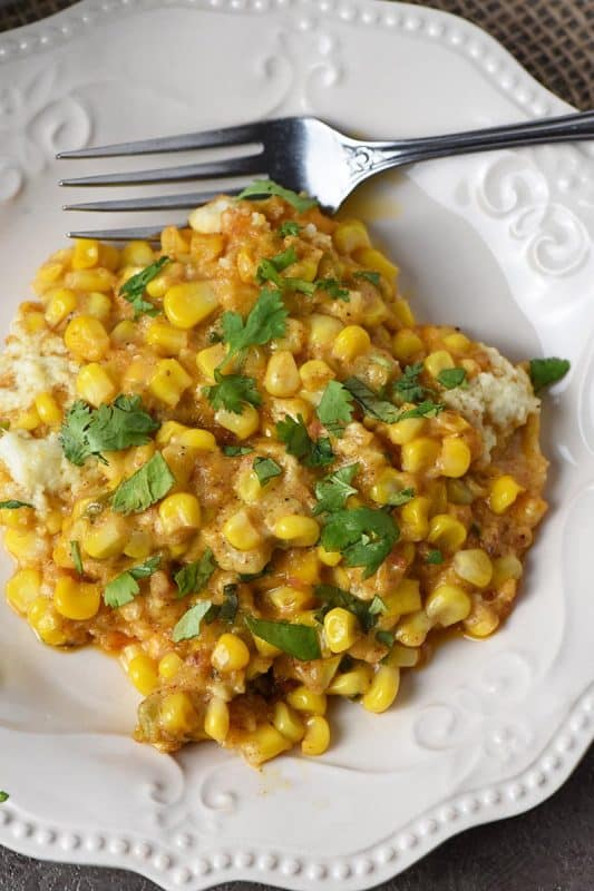 Mexican Corn Casserole from Adventures of Mel