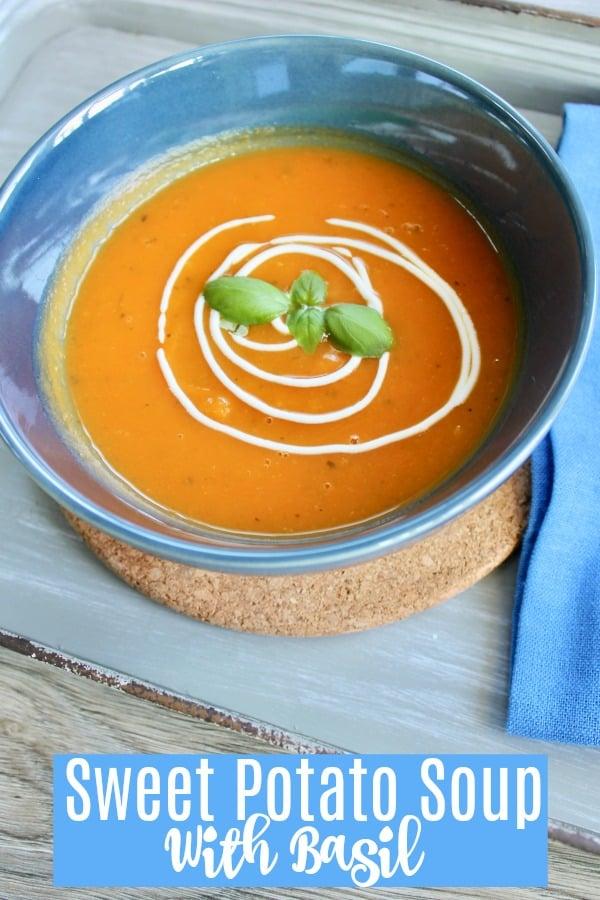 Sweet Potato Soup from Organized Island
