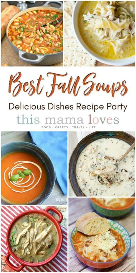best fall soup recipes from this mama loves blog