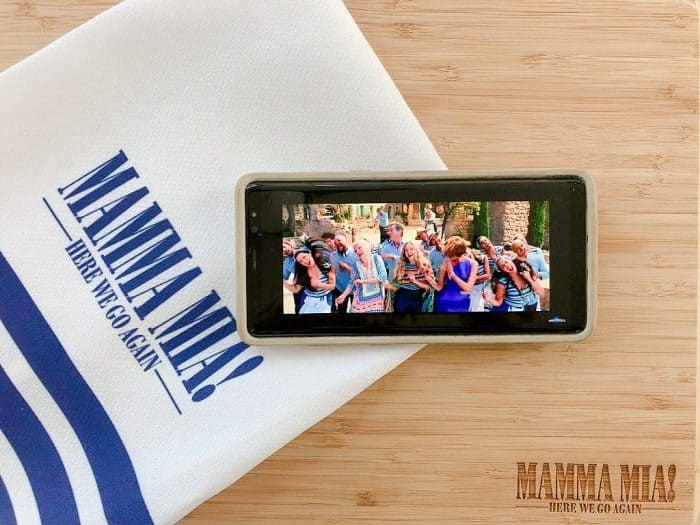mamma mia 2 items phone