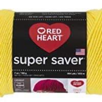 Bright Yellow yarn