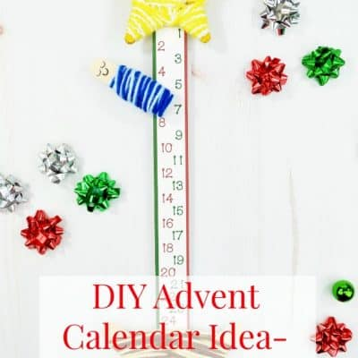 DIY Advent Calendar Ideas: Nativity Advent Calendar