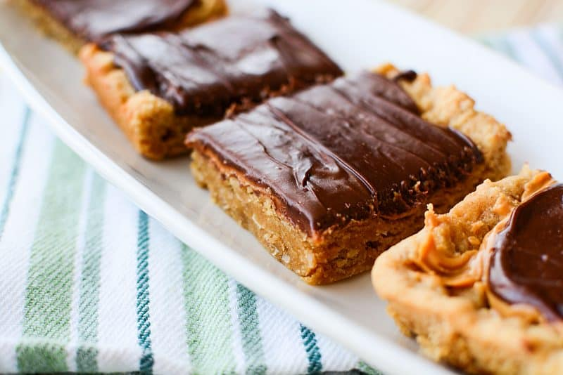 The Best Ever Oatmeal Peanut Butter Bars Lunch Lady Bars Recipe