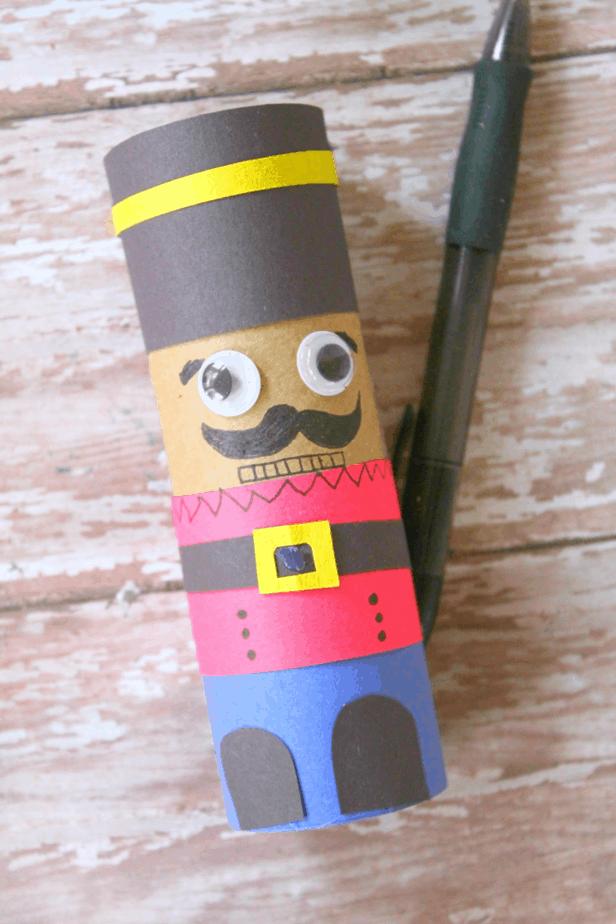 toilet paper roll nutcracker