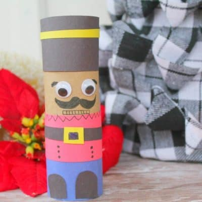 Nutracker Movie inspired Toilet Paper Roll Craft
