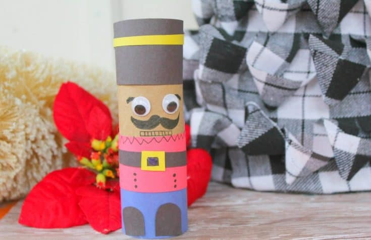 Nutracker Movie Toilet Paper Roll Craft