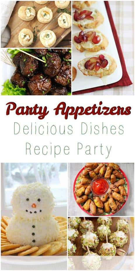Party Appetizer Recipes from This Mama Loves -holiday appetizers-- holiday party foods- holiday party appetizers