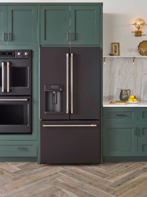 cafe matte fridge green customizable appliances