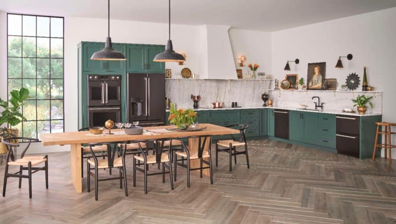 cafe matte green customizable appliances