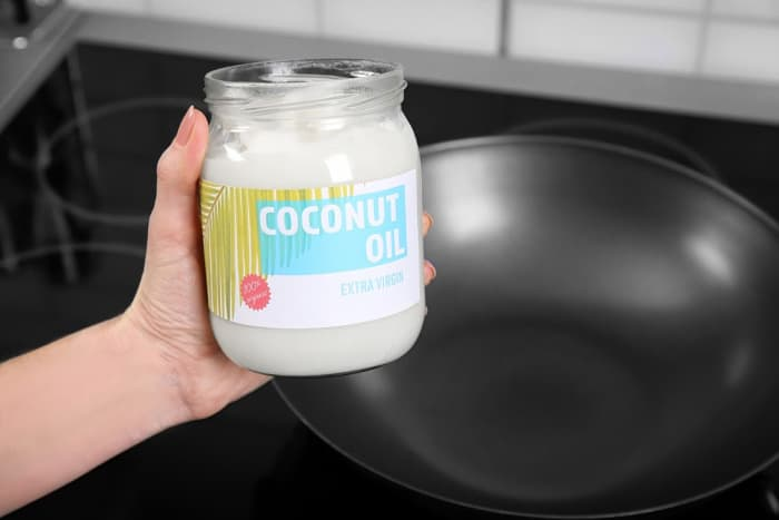 high temperature cooking coconut oil