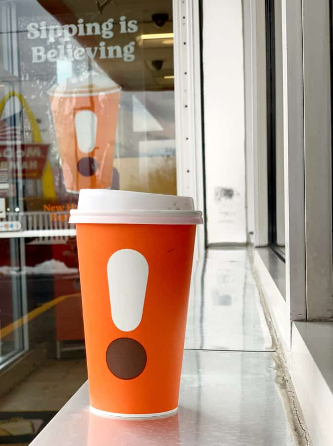 new dunkin cups