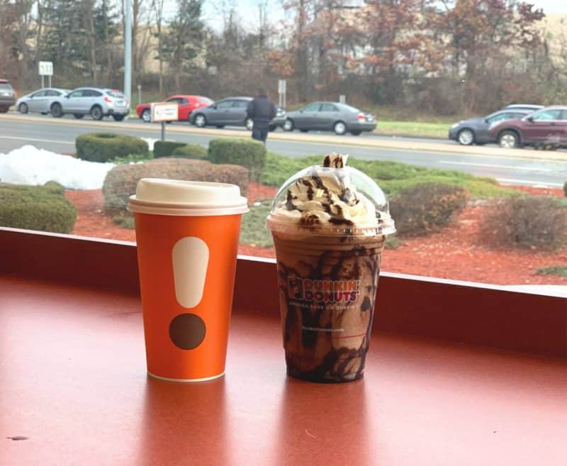 new dunkin handcrafted espresso drinks