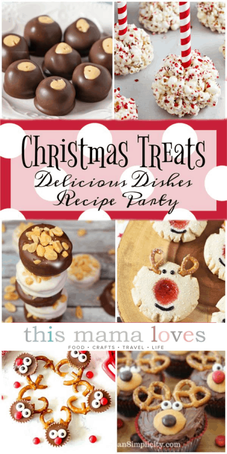 Festive Holiday Treats for Gifting- homemade goodies packaged in a festive container or packaging will wow your gift recipients! Homemade Christmas treats