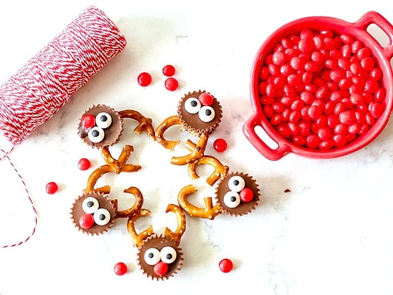 Reese's Reindeer Christmas Treats from Suburban Simplicity