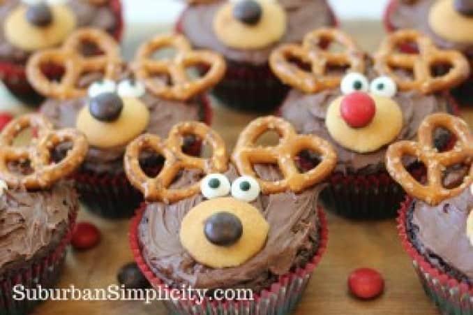 Reindeer Brownie Recipefrom Suburban Simplicity