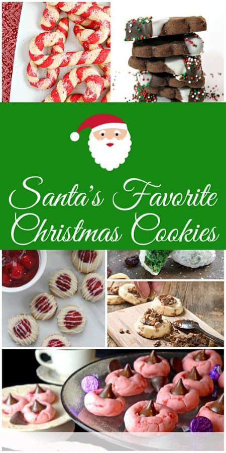 Santas Favorite Christmas Cookies Recipes