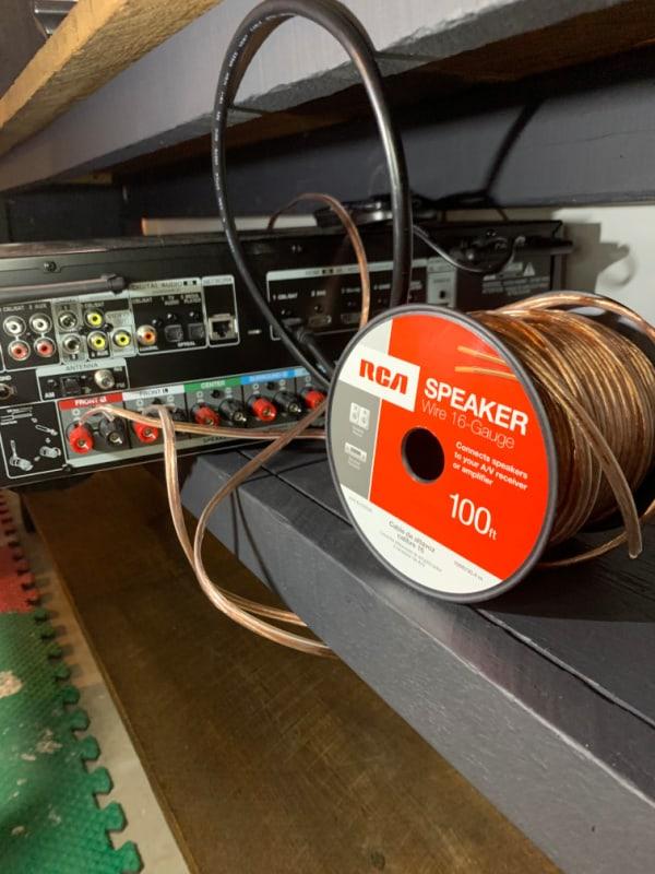 bookshelf speaker speaker wire
