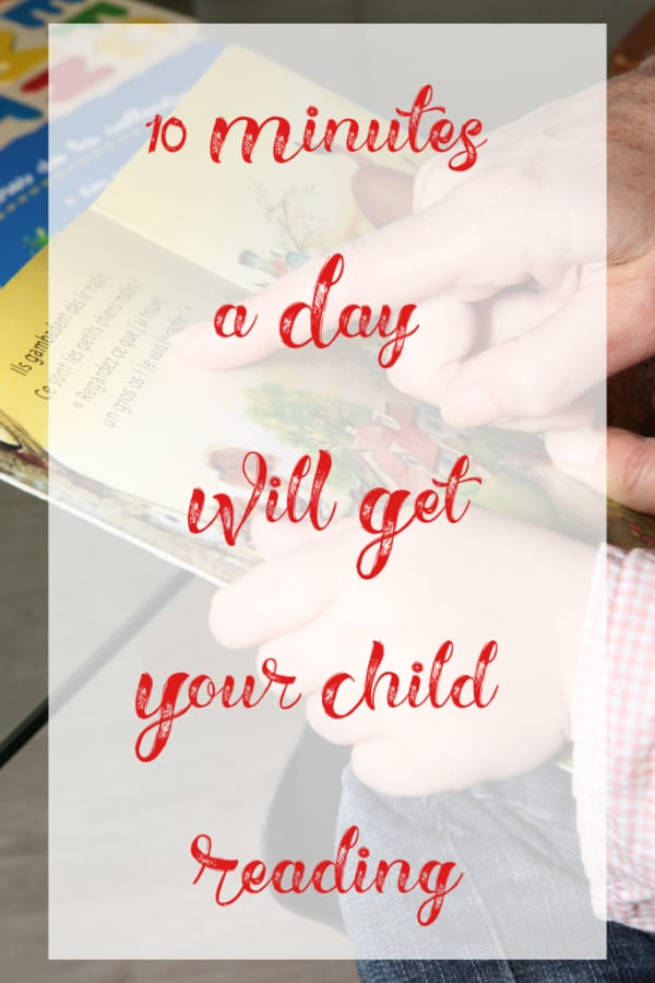 10 Minutes a Day Will Get Your Child Reading from This Mama Loves