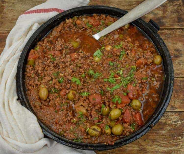 Keto Cuban Picadillo from Fit to Serve Group