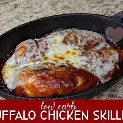 Keto Buffalo Chicken Skillet