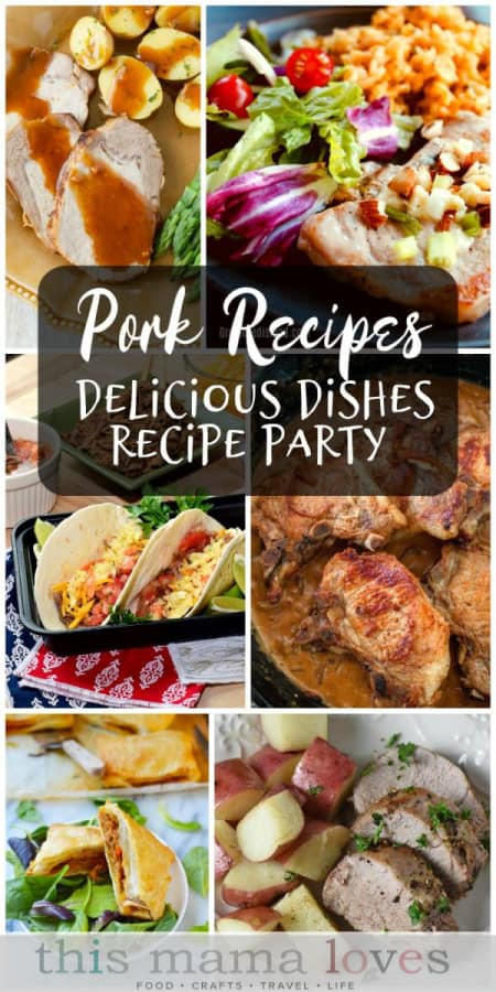 Easy Pork Dinner Recipes from This Mama Loves