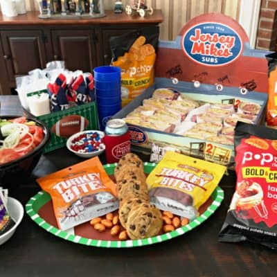 Snacks for the big game