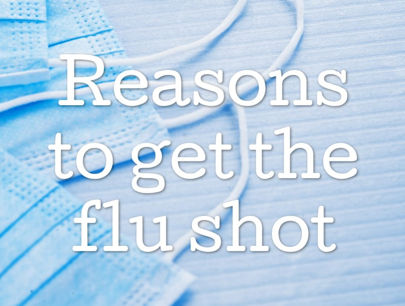 reasons to get the flu shot social