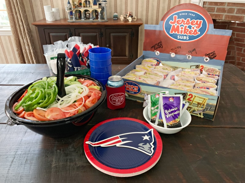snacks for big game- big game catering- jersey mikes