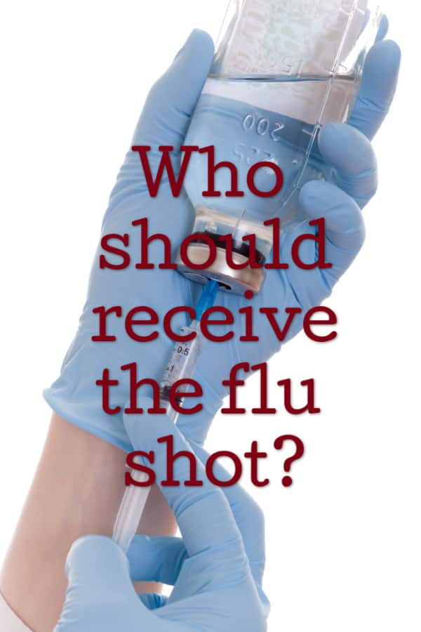 who should get the flu shot from this mama loves