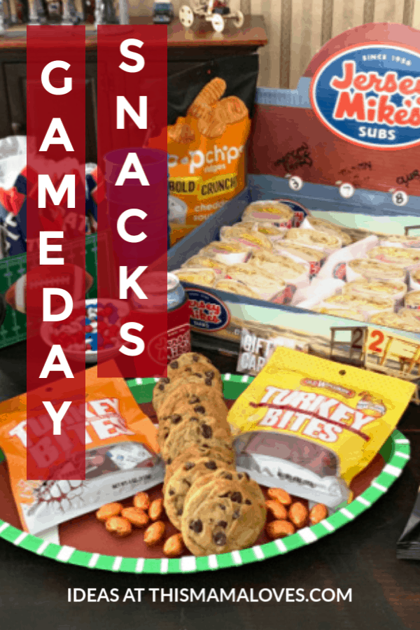 Big Game Snacks for the Big Game from This Mama Loves