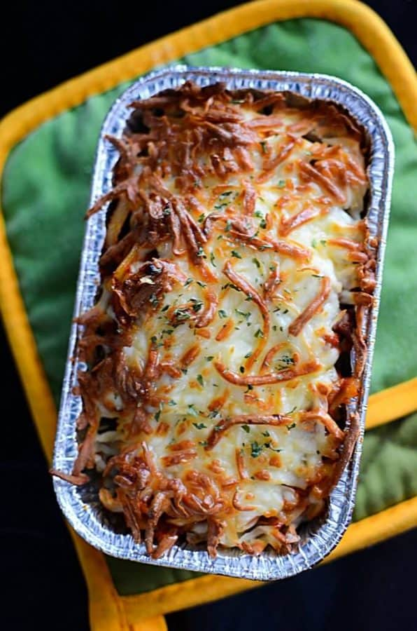 Make Ahead Baked Spaghetti Dinners from The Salty Pot
