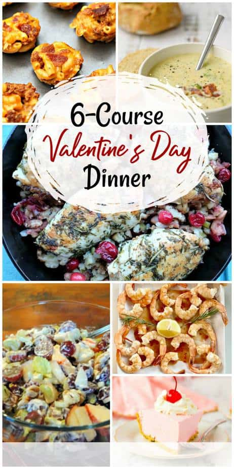 Six Course Valentines Day Dinner for Two