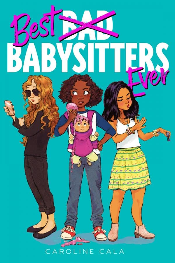 best babysitters ever middle grade book cover