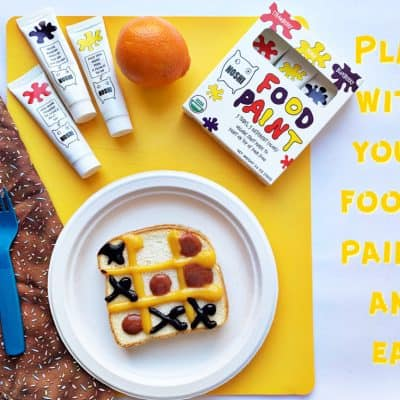 Edible Paint: Please play with your food!