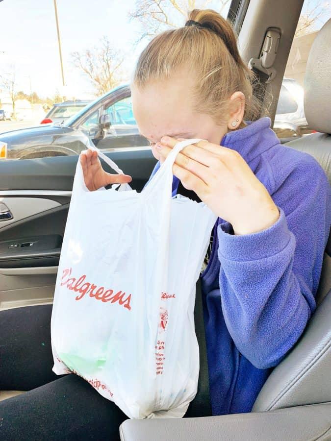 tips for teen skin care on the go bag