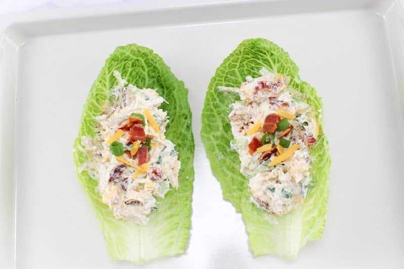 Chicken Lettuce Wraps process