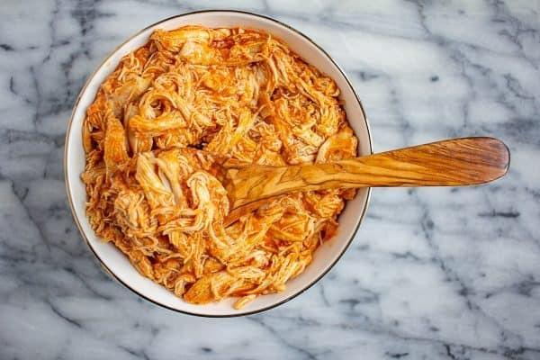 Crock Pot Buffalo Chicken from The Kittchen