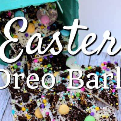 Easter Oreo Bark