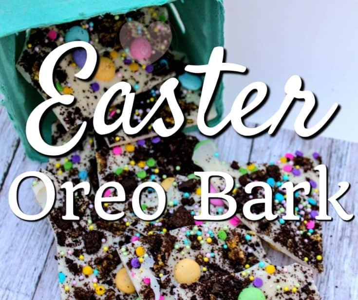 Easter Oreo Bark recipe | This Mama Loves