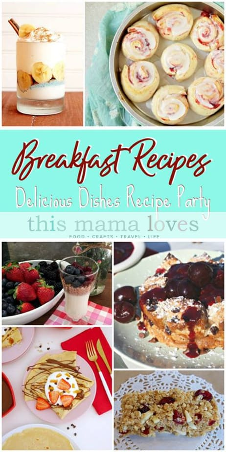 Family Friendly Breakfast Recipes from This Mama Loves